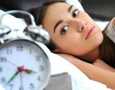 moeite met in slaap vallen