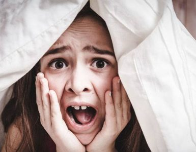 bang om te slapen