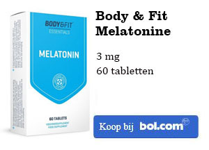 Body & Fit Melatonine kopen 3 mg