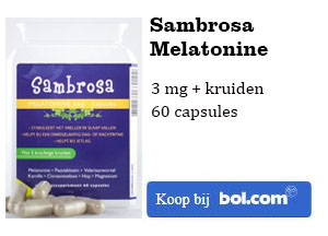 Sambrosa Melatonine kopen 3 mg