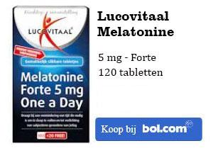melatonine kopen 5mg forte lucovitaal