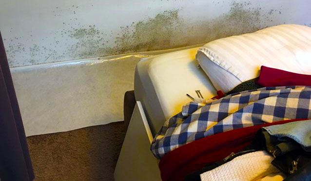 luchtvochtigheid slaapkamer