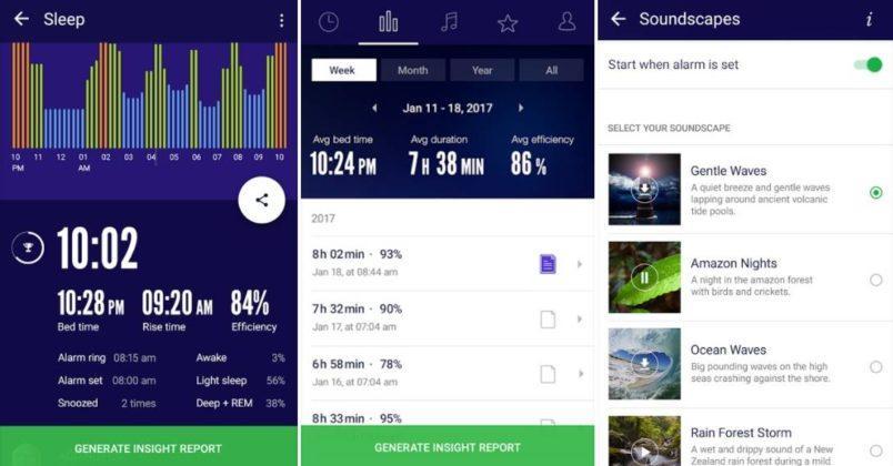 Slaap Cyclus Tracker en Wekker
