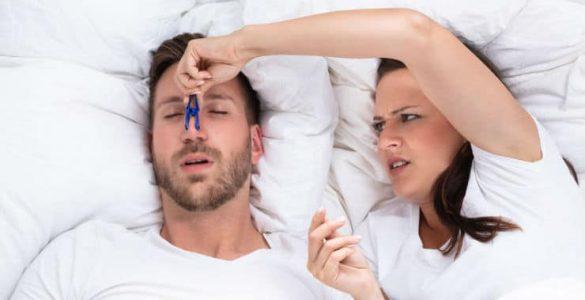partner snurkt