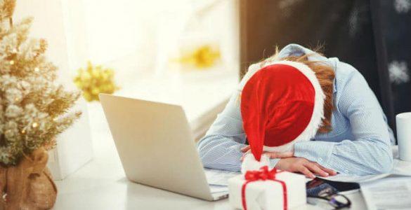 slapen tijdens feestdagen